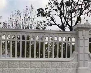 道路仿石护栏