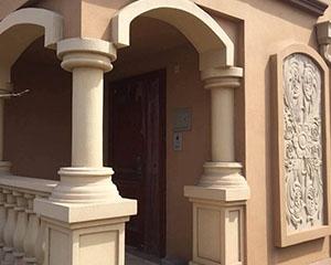 GRC罗马柱墩装饰