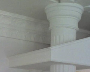简约罗马柱装饰