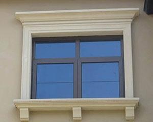 楼层EPS线条窗户套