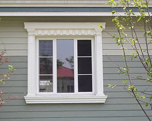 GRC线条窗户套