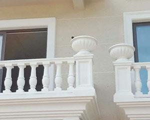 别墅水泥花瓶护栏